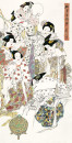 10骊宫春韵图136cm×68cm2007