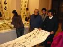 2006年在北京帮助业师马世晓先生布展