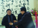 """著名教育家李希贵(右)在""""凤之舞"""""""