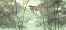 陈佩秋-竹涧山禽