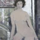 人体12 40x40cm 2013年布面油画