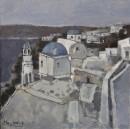 希腊风情之八60x60cm 2011年布面油画
