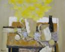 静物系列-黄花50x60cm  2007年布面油画
