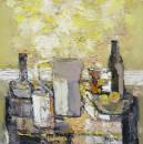 静物12  2007年布面油画