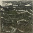 陕南古镇 120x120cm 1993年