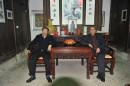 两个老学究-薛永年和王涛