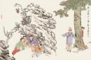 童戏图―捉迷藏