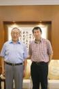 与李岚清先生在北京