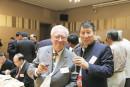 与台湾著名画家欧豪年在酒会上
