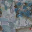 花艳 2010 33x33cm