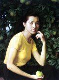 靳尚谊人物肖像1