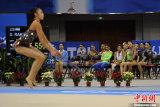 艺术体操各国选手同台竞技