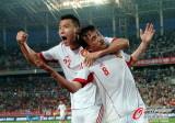 [友谊赛]中国负乌兹别克
