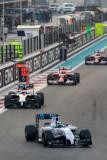 图文-新浪直击F1收官站正赛 马萨比赛中领先巴顿