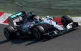图文-F1季前第二轮试车次日 梅赛德斯车队罗斯伯格