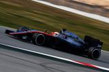 图文-F1巴塞罗那试车六日 迈凯轮车队巴顿