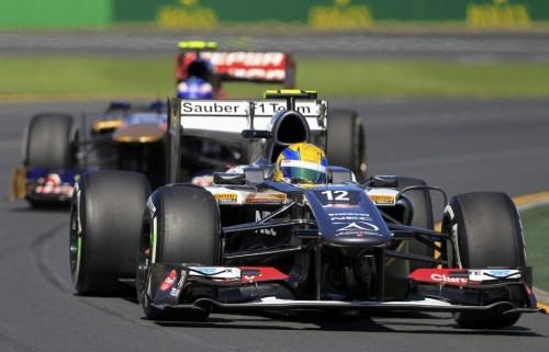 图文-F1澳大利亚站周五练习 索伯车队古铁雷兹