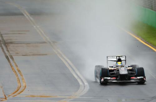 图文-F1澳大利亚站周六练习排位 索伯车队古铁雷兹