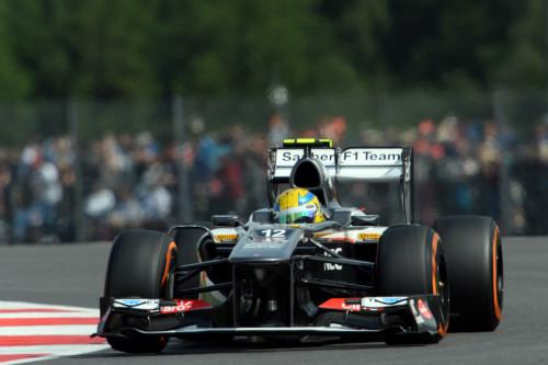 图文-F1英国站排位赛 索伯车队古铁雷兹