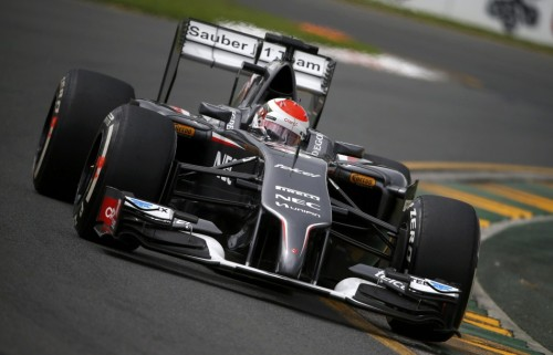 图文-F1澳大利亚站第3次练习 索伯车队苏蒂尔