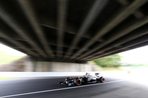 图文-F1日本站第3次练习 索伯车队苏蒂尔
