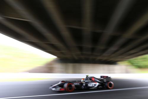 图文-F1日本站第3次练习 索伯车队古铁雷兹