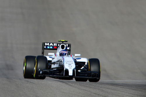 图文-F1美国站第3次练习 威廉姆斯车队博塔斯