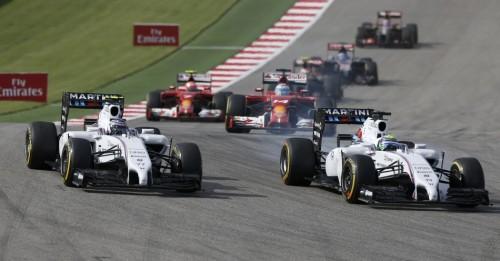图文-F1美国站正式比赛 威廉姆斯双雄发车