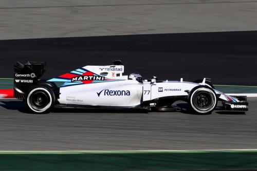 图文-F1巴塞罗那试车四日 威廉姆斯车队博塔斯