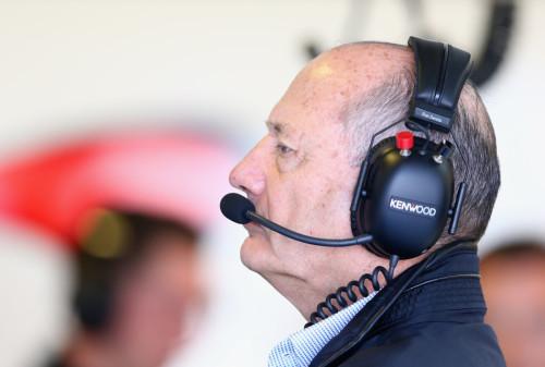 图文-F1澳洲站第1次练习赛 迈凯轮车队罗恩-丹尼斯