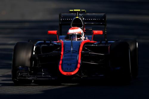 图文-F1澳洲站第2次练习赛 迈凯轮车队巴顿