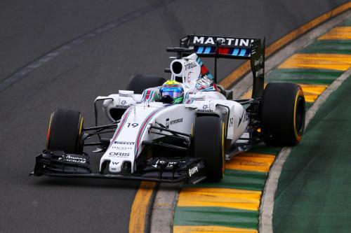 图文-F1澳大利亚站排位赛 威廉姆斯车队马萨