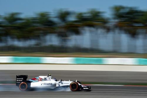 图文-F1马来站第1次练习赛 威廉姆斯车队博塔斯