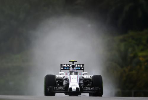 图文-F1马来西亚站排位赛 威廉姆斯车队博塔斯