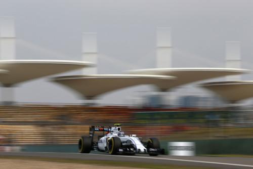 图文-F1中国站第2次练习赛 威廉姆斯车队博塔斯