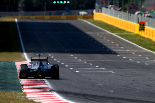 图文-F1西班牙站排位赛 威廉姆斯车队博塔斯