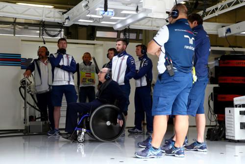 图文-F1奥地利站排位赛 弗兰克-威廉姆斯爵士
