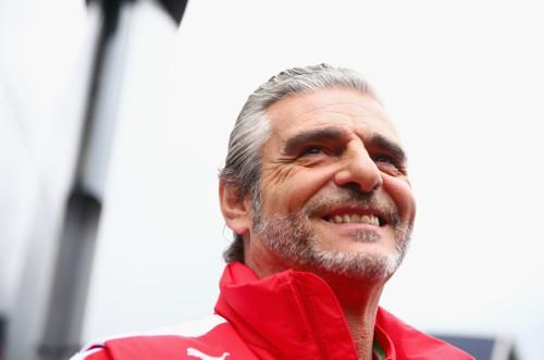 图文-F1奥地利站正式比赛 法拉利领队阿德里巴贝内