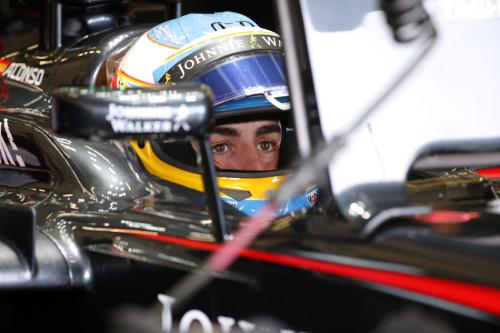 图文-F1英国站排位赛 迈凯轮车队阿隆索