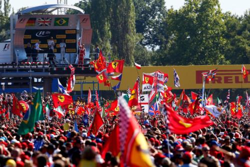 图文-F1意大利站正式比赛 感受法拉利的主场