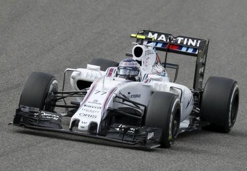 图文-F1日本站正式比赛 威廉姆斯车队博塔斯