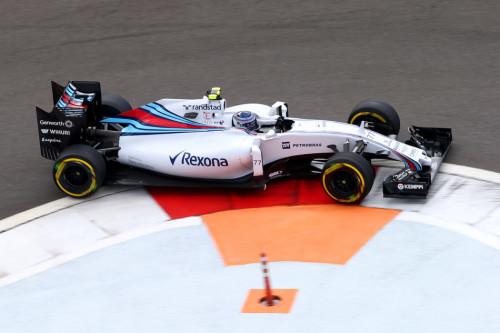 图文-F1俄罗斯站排位赛 威廉姆斯车队博塔斯