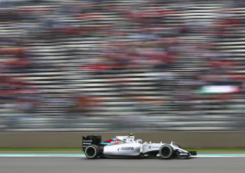 图文-F1墨西哥站第3次练习 威廉姆斯车队博塔斯