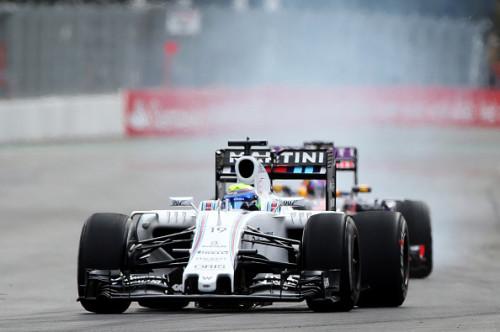 图文-F1墨西哥站排位赛 威廉姆斯车队马萨