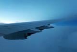 云雾中的斜削小翼