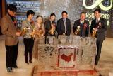 浇筑60周年纪念冰模