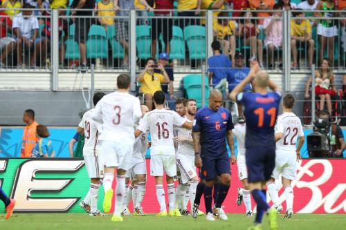 高清图-新浪直击荷兰5-1西班牙