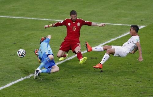 高清图-[B组次轮]西班牙0-2智利