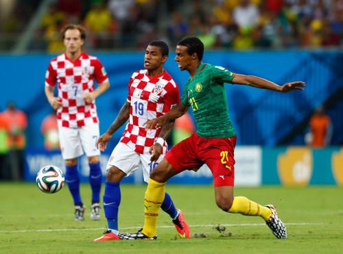 高清图-[A组次轮]喀麦隆0-4克罗地亚