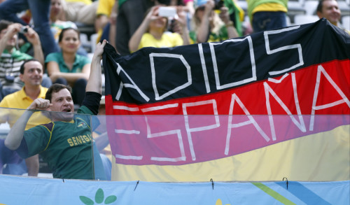 高清图-西班牙澳大利亚球迷集锦